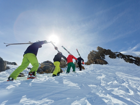 Crystal reports strong growth in family and under-35 skiers