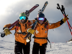 Go behind the scenes with ski patrollers