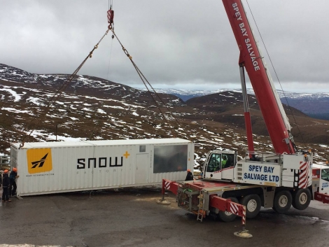 CairnGorm Mountain is trialling the revolutionary Snowfactory technology this winter