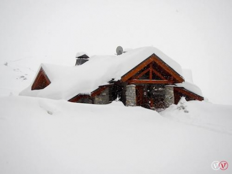 It's been dumping — now is the time to ski. Photo: Val Thorens