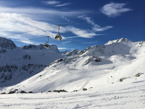 Lots of Austrian ski resorts are building new gondolas for next season - including Sölden