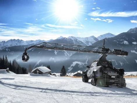 Sölden currently has perfect conditions for more filming for the James Bond film, Spectre