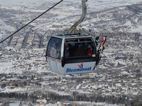 The new gondola at Steamboat will transport 38% more skiers per hour