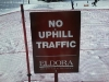 Controversy over uphill skiing in the US
