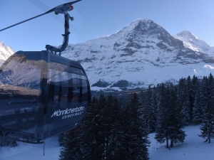 Work underway on Eiger Express