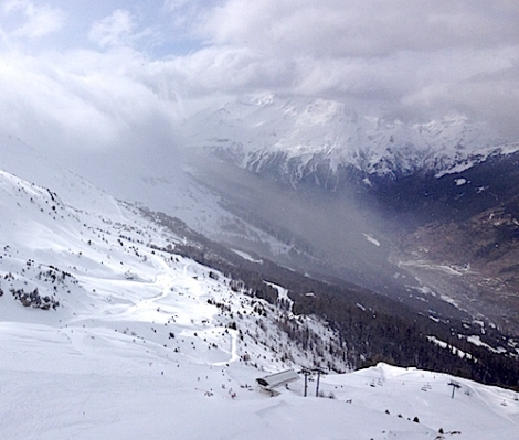 Val Cenis is the largest ski resort in the Haute Maurienne Vanoise