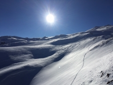 Fabulous early season conditions in Val d'Isère