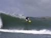 Skier takes to the waves in Hawaii