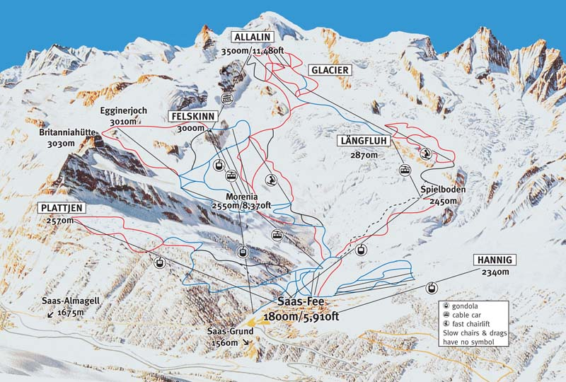 switzerland ski resorts map with Saasfee on E b 1 4 366 Ch ex Lac also La Rosiere moreover Soll as well Resort Skimap in addition Andorra Ski Holidays.
