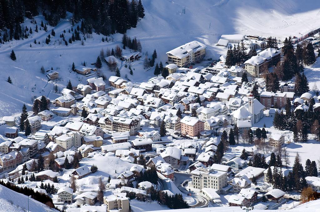 Where To Ski And Snowboard Andermatt