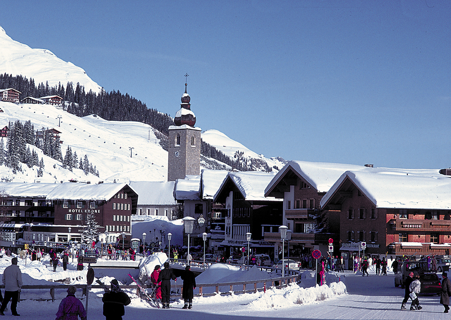 Where To Ski And Snowboard Lech