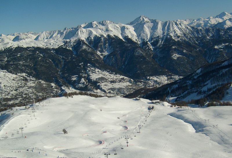 Serre Chevalier slopes