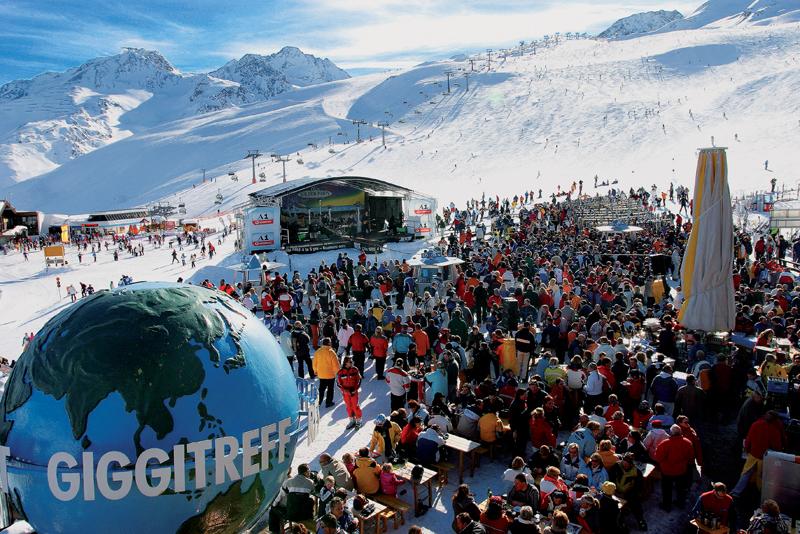 Зельден. Открытие горнолыжного сезона в Зельдене в ноябре/декабре
