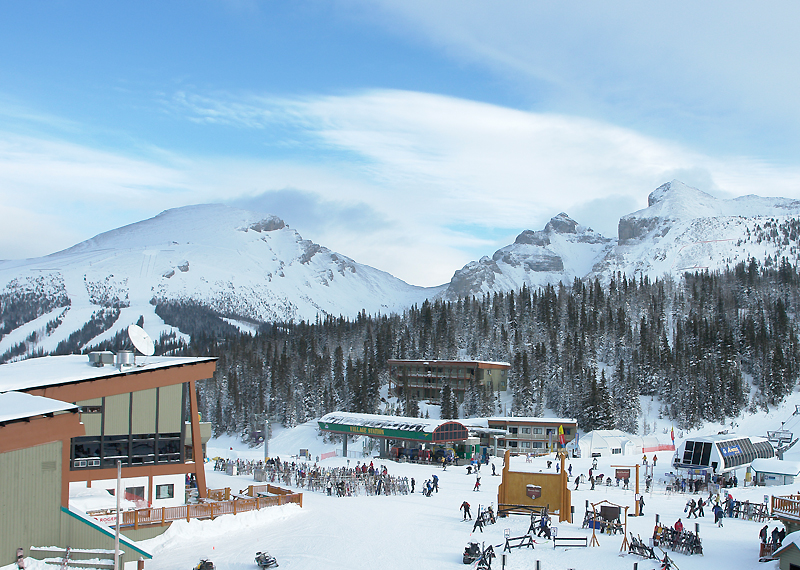 how to get to sunshine mountain resort