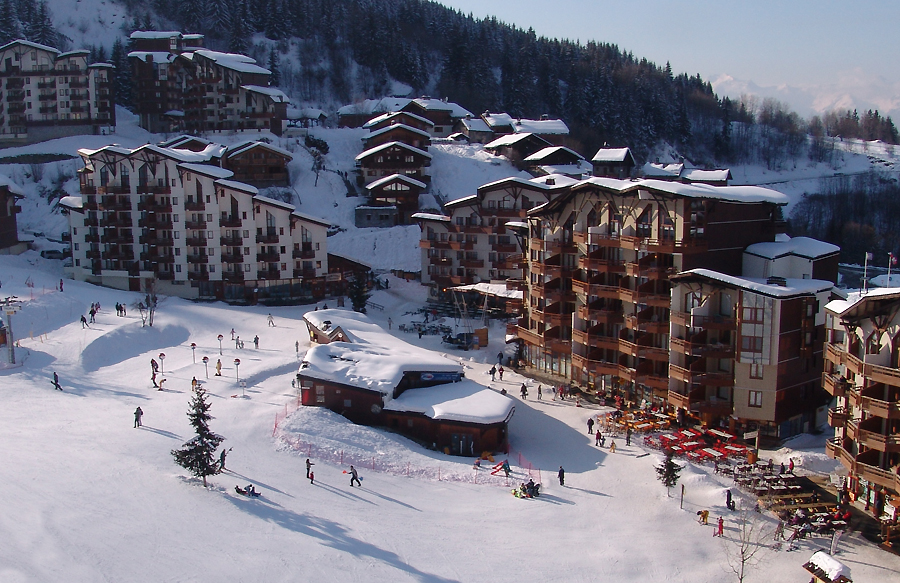 La Tania - home slopes